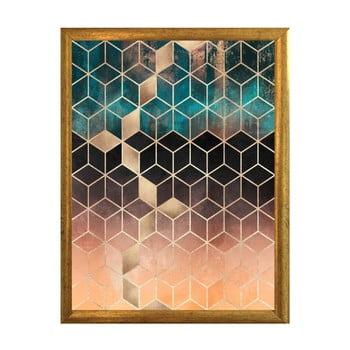 Poster cu ramă Piacenza Art Hexagon, 30 x 20 cm bonami.ro