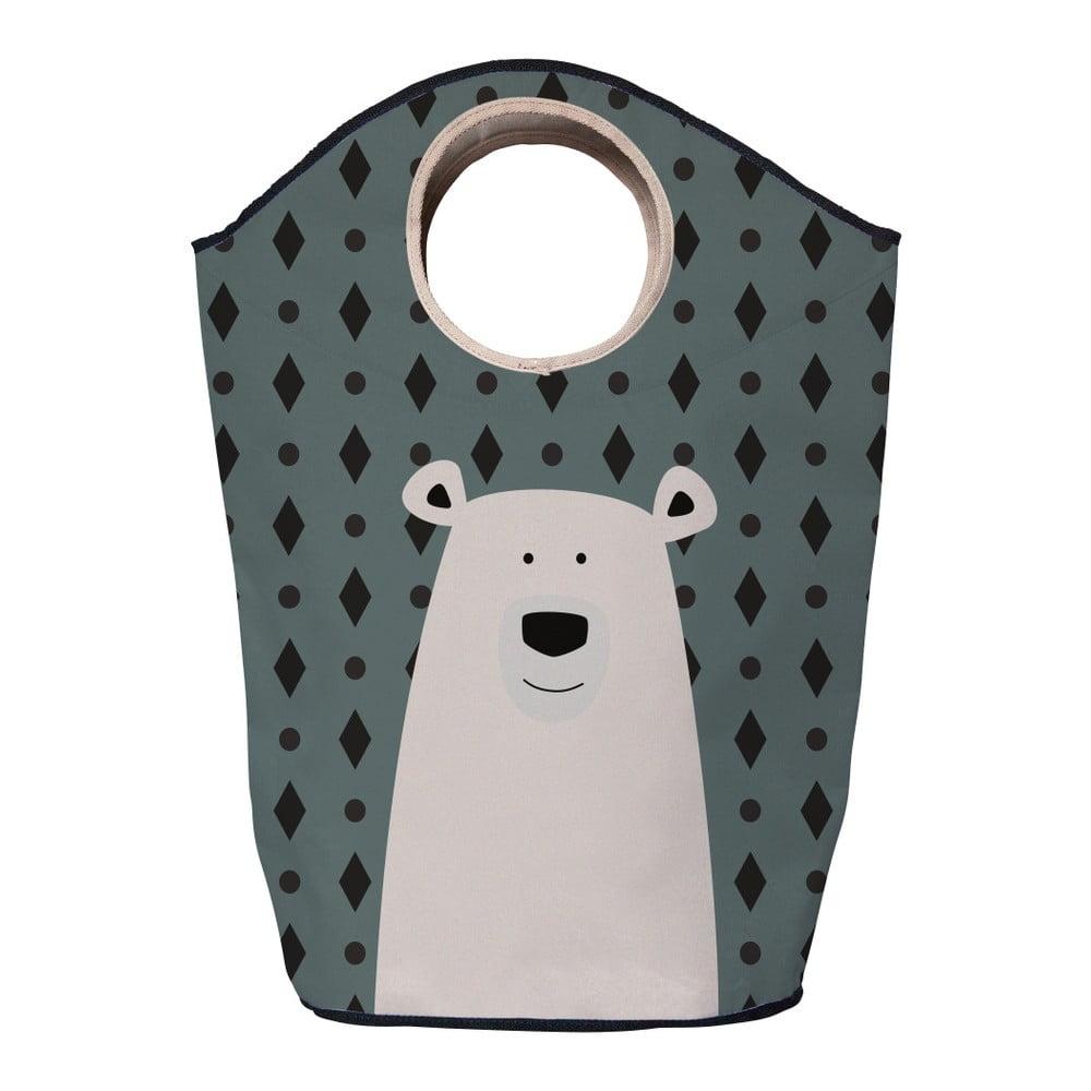 Coș depozitare Mr. Little Fox Polar Bear, 60 l