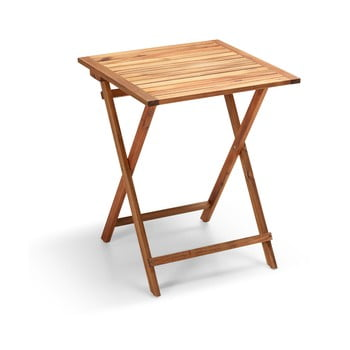 Masă auxiliară din lemn de salcâm pentru grădină Le Bonom Diego, lungime 50 cm poza bonami.ro