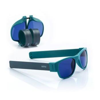 Ochelari de soare pliabili InnovaGoods Sunfold AC4, albastru poza bonami.ro