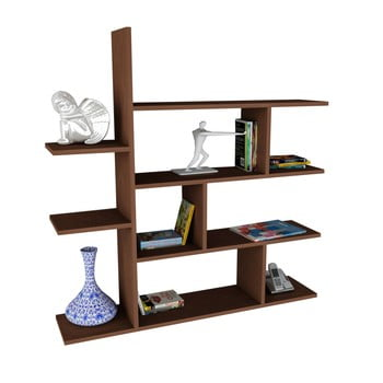 Bibliotecă Motif, maro bonami.ro