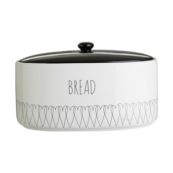 Recipient pentru pâine Premier Housewares Heartlines, 32 x 22 cm poza bonami.ro