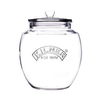 Borcan din sticlă cu capac Kilner, 2 L poza bonami.ro
