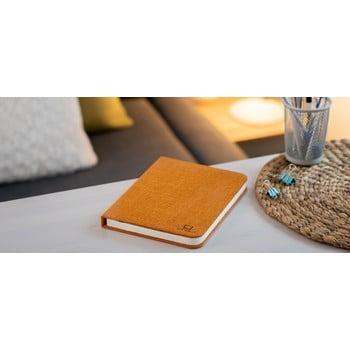 Veioză de birou cu LED Ginko Booklight Large, formă de carte, portocaliu poza bonami.ro