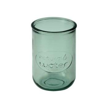 Pahar din sticlă reciclată Ego Dekor Water, 400 ml,verde poza bonami.ro