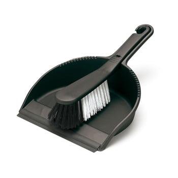 Set măturică și faraș Addis Dust, negru bonami.ro