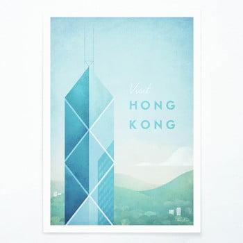 Poster Travelposter Hong Kong, A2 bonami.ro