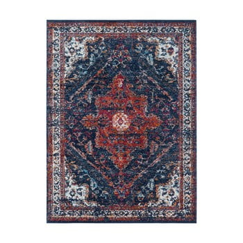 Covor Nouristan Azrow, 160 x 230 cm, albastru - roșu imagine