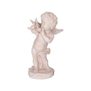 Statuetă decorativă din poliresină Antic Line Ange, înălțime22cm, formă înger bonami.ro