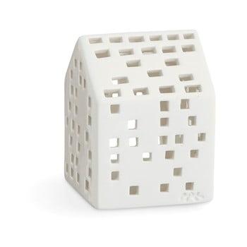 Sfeșnic din ceramică Kähler Design Urbania Lighthouse Classical, alb bonami.ro