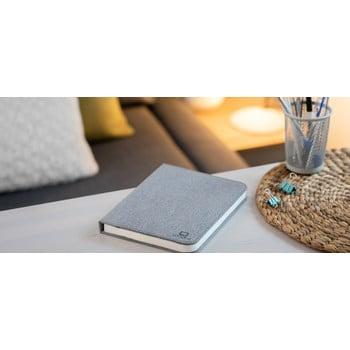 Veioză de birou cu LED Ginko Booklight Large, formă de carte, gri bonami.ro
