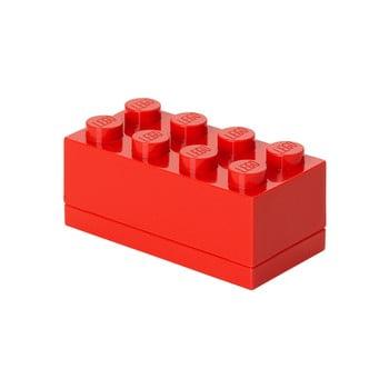 Cutie depozitare LEGO® Mini Box, roșu bonami.ro