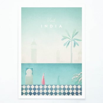 Poster Travelposter India, A2 bonami.ro