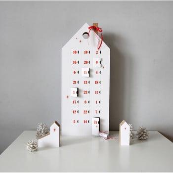 Calendar advent cu detalii negre Unlimited Design for kids bonami.ro