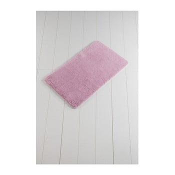 Covor baie Minto Duratto, 100 x 60 cm, roz poza bonami.ro