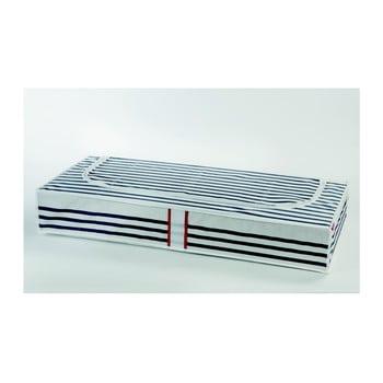 Cutie de depozitare sub pat Compactor Stripes poza bonami.ro