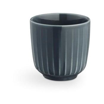 Ceașcă din porțelan pentru espresso Kähler Design Hammershoi, 1 dl, gri antracit poza bonami.ro