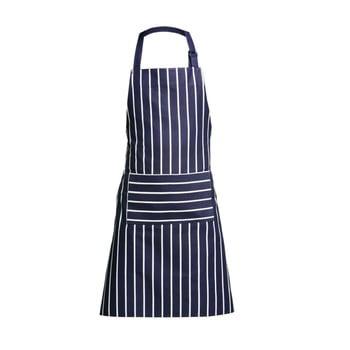 Șorț de bucătărie Premier Housewares Butcher Stripe, albastru-alb bonami.ro