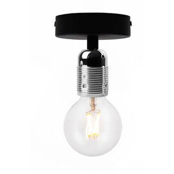 Plafonieră Bulb Attack Uno Basic, negru - argintiu poza bonami.ro