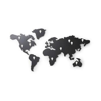 Autocolant de perete Umbra Map, negru poza bonami.ro