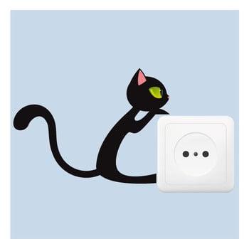 Autocolant Fanastick Black Cat bonami.ro