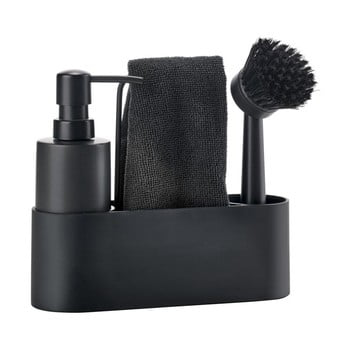 Set pentru spălarea veselei Zone Singles, negru bonami.ro