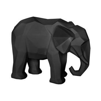 Statuetă PT LIVING Origami Elephant, negru mat bonami.ro