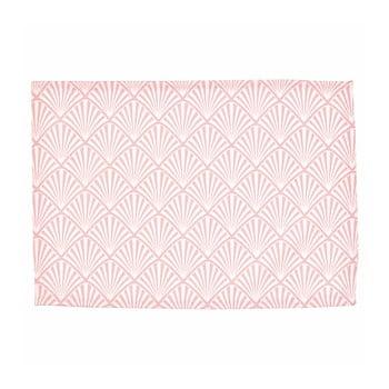 Suport textil pentru farfurie Green Gate Celine, 40 x 50 cm, roz poza bonami.ro