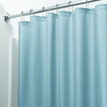 Perdea pentru duș iDesign, 200x180cm, albastru poza bonami.ro