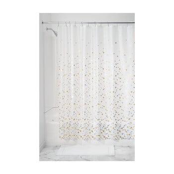 Perdea de duș iDesign Confetti, 183x183cm bonami.ro