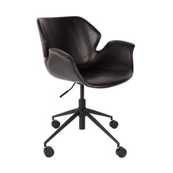 Scaun birou Zuiver Office Chair Nikki, negru imagine