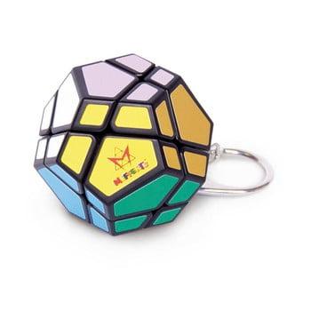 Breloc chei puzzle RecentToys Mini Skewb poza bonami.ro