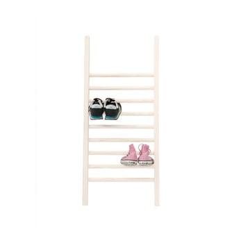 Suport pentru încălțăminte Linen Escalera S White, înălțime 90 cm poza bonami.ro