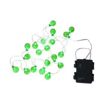 Șirag luminos LED pentru exterior Best Season Bulb, 20 becuri, verde bonami.ro