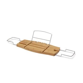 Raft de baie din bambus cu suport pentru carte Umbra poza bonami.ro