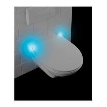 Capac WC LED Wenko Gubbio, 44 x 36,8 cm, alb poza bonami.ro