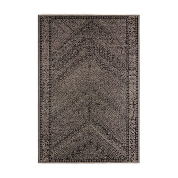 Covor de exterior Bougari Mardin, 200 x 290 cm, maro - negru imagine
