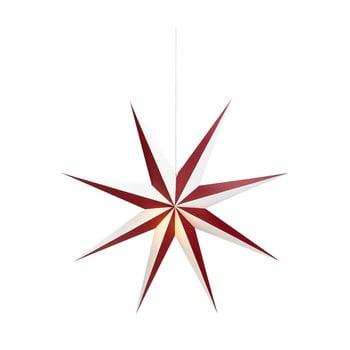 Decorațiune luminoasă suspendată Markslöjd Saturnus, ø 75 cm, alb - roșu bonami.ro