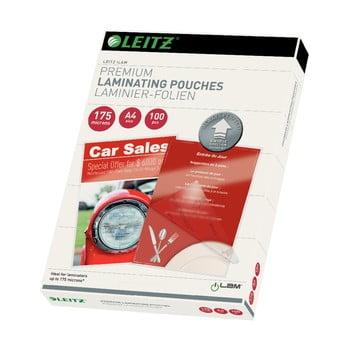Set 100 folii pentru laminare Leitz, A4, 175 microni bonami.ro