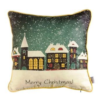 Față de pernă de Crăciun Mike&Co.NEWYORK Comfort Snowy, 43 x 43 cm bonami.ro