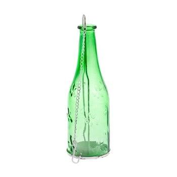 Felinar de agățat din sticlă Dakls Romance, verde poza bonami.ro
