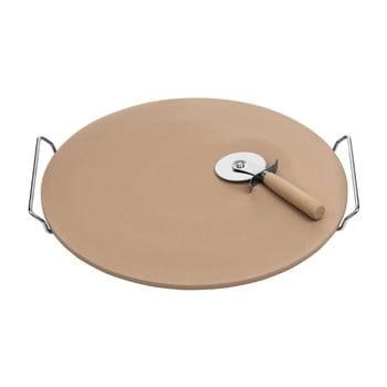 Set tavă și cuțit pentru pizza Premier Housewares, 40 x 38 cm bonami.ro