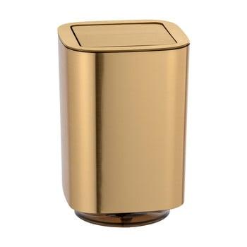 Coș de gunoi pentru baie Wenko Auron, auriu bonami.ro