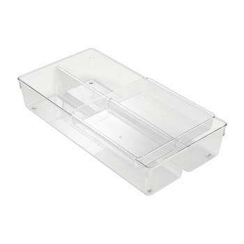 Organizator pentru sertar iDesign Linus, 20,5 x 41 cm bonami.ro