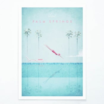 Poster Travelposter Palm Springs, A2 bonami.ro