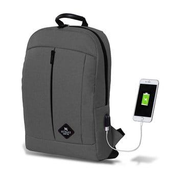Rucsac cu port USB My Valice GALAXY Smart Bag, gri bonami.ro