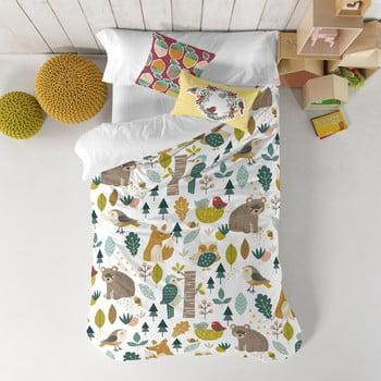 Lenjerie de pat din bumbac pentru copii Moshi Moshi Best Harvestwood, 140x200cm poza bonami.ro