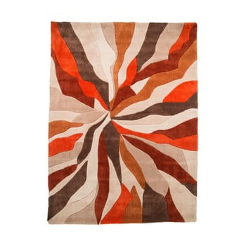 Covor Flair Rugs Splinter, 120 x 170 cm, portocaliu imagine