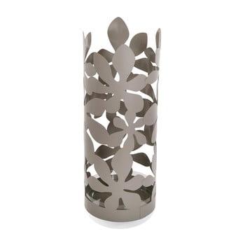 Suport metalic pentru umbrele Versa Flores, înălțime 49cm, gri poza bonami.ro