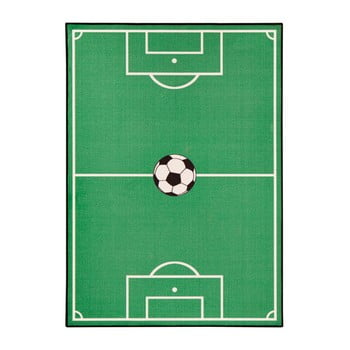 Covor pentru copii Zala Living Football, 100 x 140 cm, verde poza bonami.ro